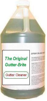 The Gutter Shield And Gutter Brite Streak Remover